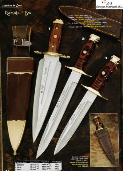 hunting knives HUNTING KNIVES REMATE SERREÑO BOWIE