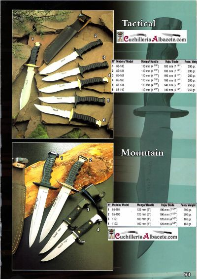 hunting knives mountain knives TACTICAL MOUNTAIN