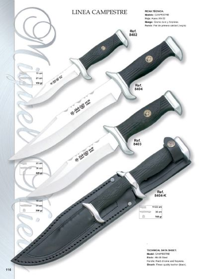 hunting knives mountain knives LINEA CAMPESTRE