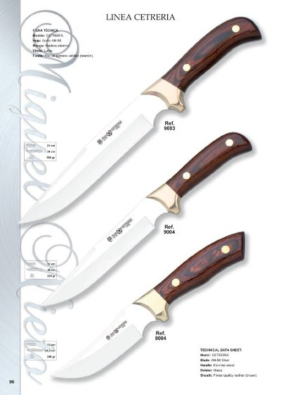 hunting knives CETRERIA LINE