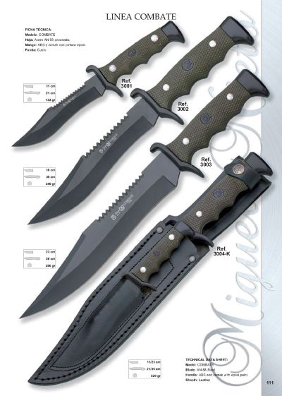 tactical knives LINEA COMBATE 2