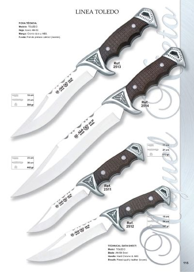 hunting knives LINEA TOLEDO