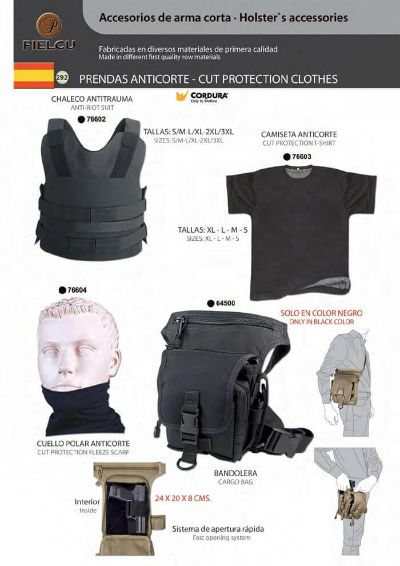 camping and survival vests ANTICUTTING