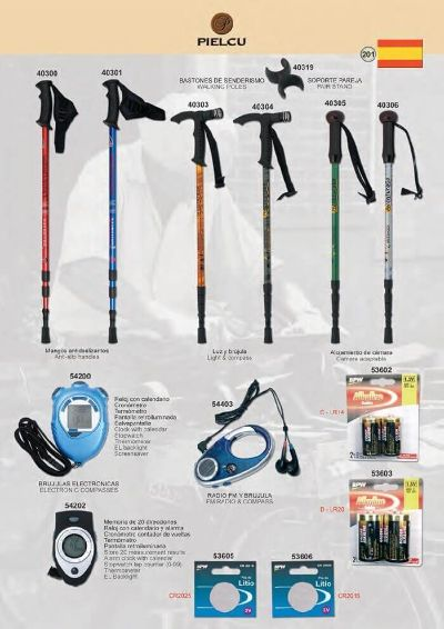 camping and survival HIKING POLES 1