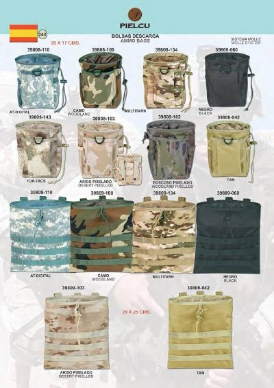 camping and survival AMMO BAGS