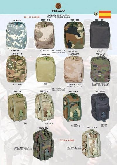 camping and survival MULTIPURPOSE BAGS
