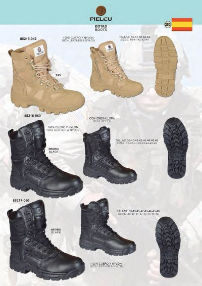 camping and survival clothing MILITARY BOOTS MAN