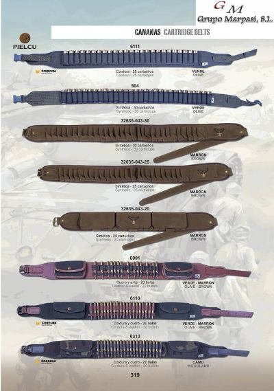 arms CARTRIDGE BELTS