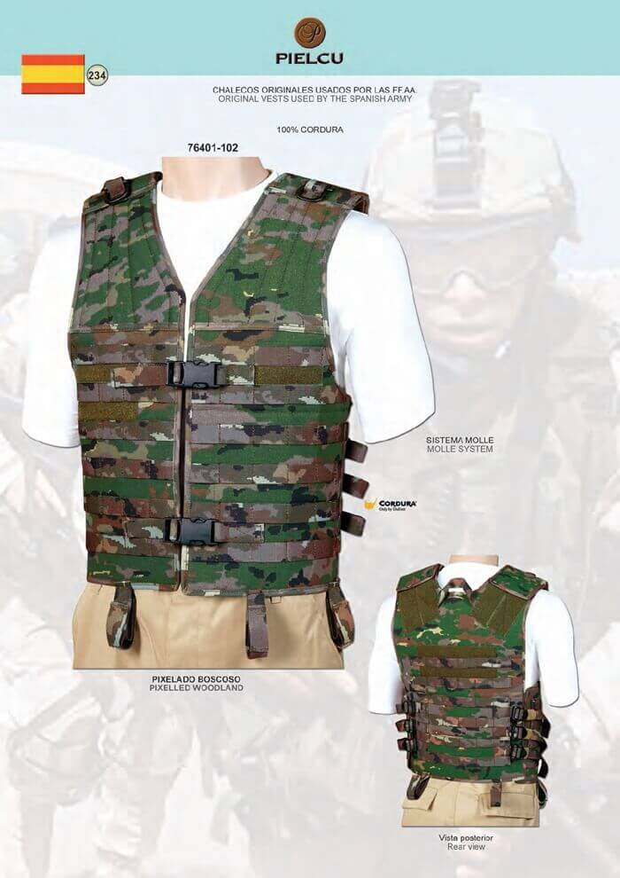 TACTICAL VESTS AIRSOFT - PIELCU