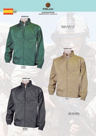 camping and survival clothing WINDPROOF JACKETS