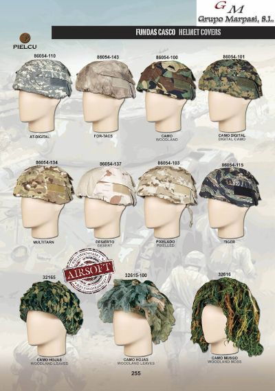 airsoft equipment HELMET COVERS