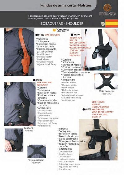 arms HOLSTERS HANDGUN 10