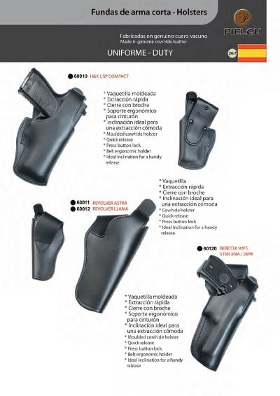 arms HOLSTERS HANDGUN 2