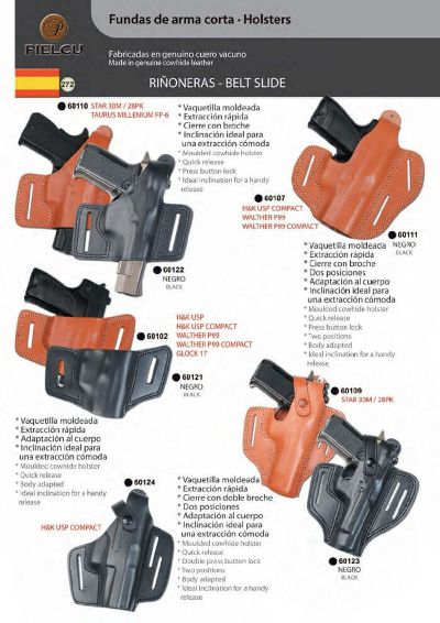 arms HOLSTERS HANDGUN 3