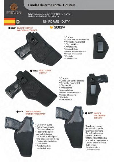 arms HOLSTERS HANDGUN 4