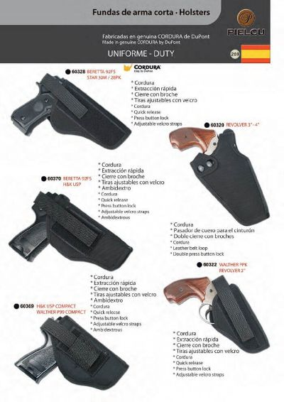 arms HOLSTERS HANDGUN 5