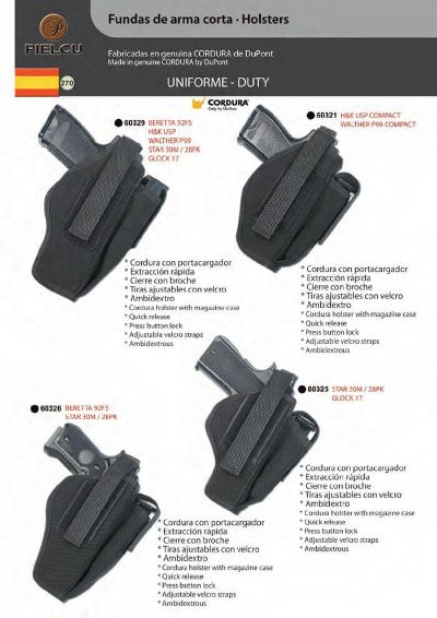 arms HOLSTERS HANDGUN 6