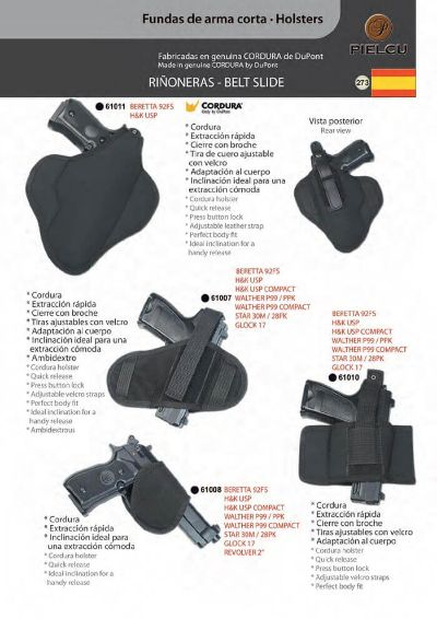 arms HOLSTERS HANDGUN 7