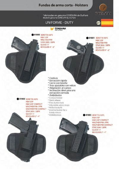 arms HOLSTERS HANDGUN 8