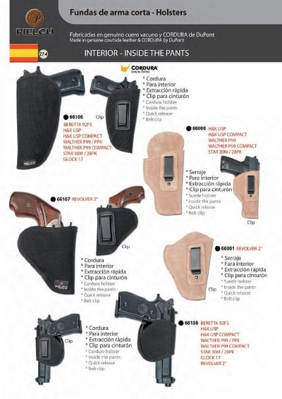 arms HOLSTERS HANDGUN 9
