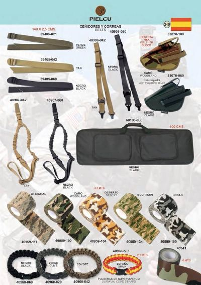 arms BELTS AND SURVIVAL TAPES
