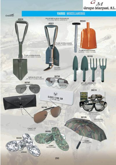 camping and survival clothing GLASSES Y MISCELLANEOUS