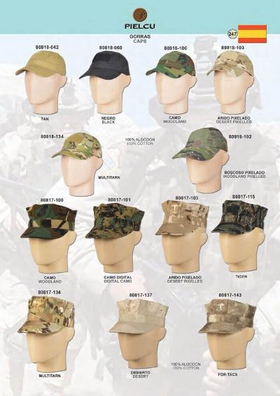 objects personal clothing USMC CAPS