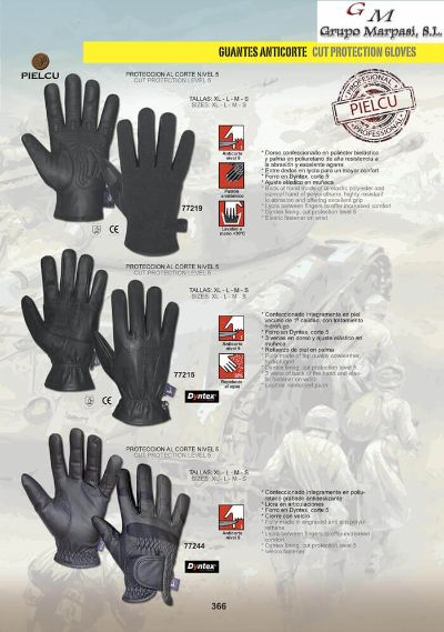 camping and survival CUT PROTECTION GLOVES