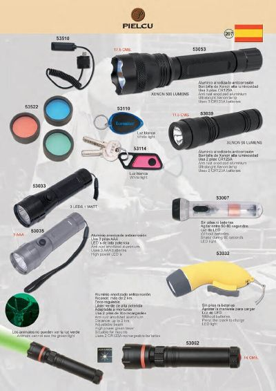 camping and survival XENON TACTICAL FLASHLIGHTS