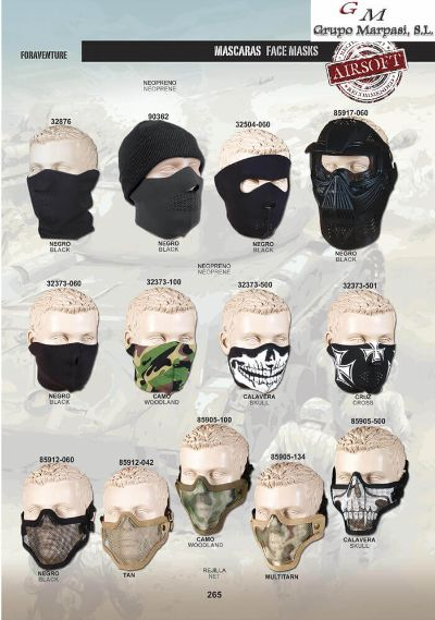 airsoft equipment FACE MASKS AIRSOFT