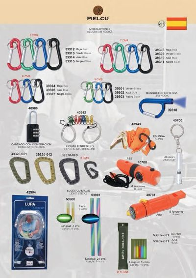 camping and survival HOOKS AND ACCESSORIES