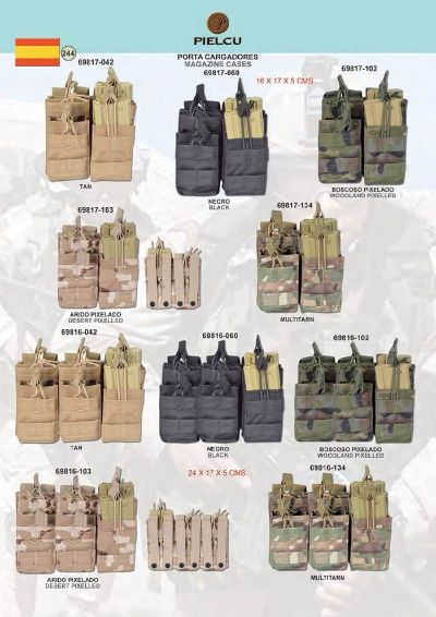 camping and survival MAGAZINE CASES