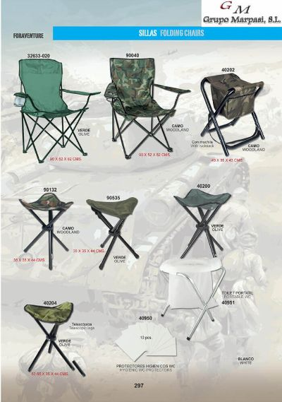 camping and survival ALUMINIUM FOLDING CHAIRS