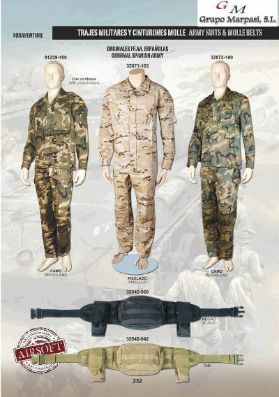 camping and survival TACTICAL SUITS AIRSOFT