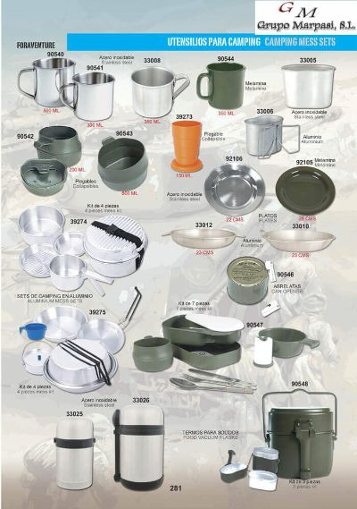 camping and survival CAMPING UTENSILS