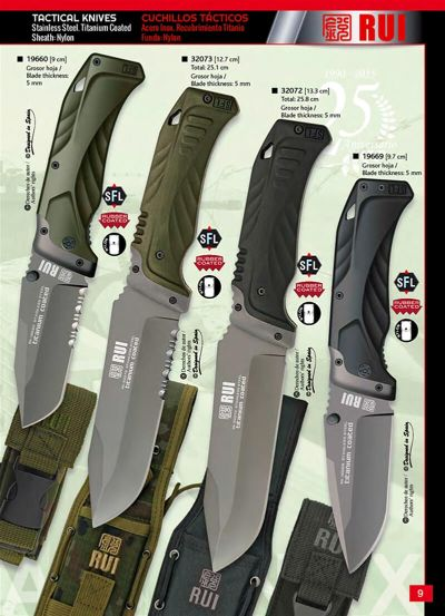cuchillos tacticos CUCHILLO TACTICO RUI OUTLET