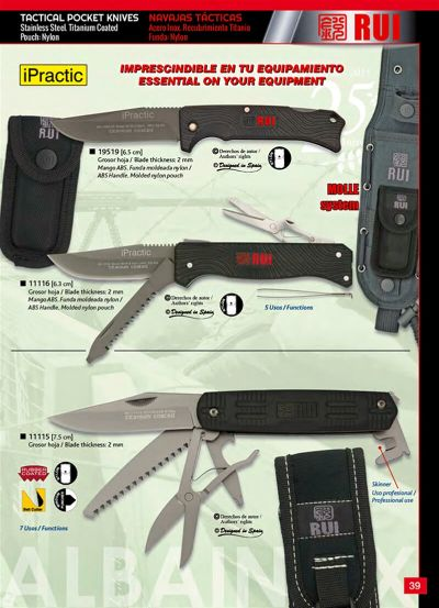 multipurpose penknives FOLDING KNIFE IPRACTIC 11116