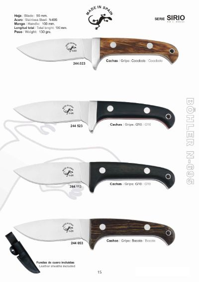 tactical knives SIRIO TACTICAL KNIVES
