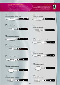 kitchen utensils CUTLERY TABLE