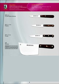 professional knives KITCHEN KNIVES 3