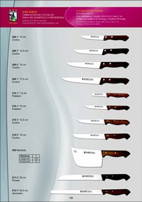 professional knives KITCHEN KNIVES 13