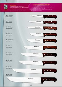 professional knives BUTCHER KNIVES