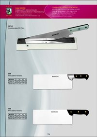 kitchen utensils KNIVES FISHMONGER