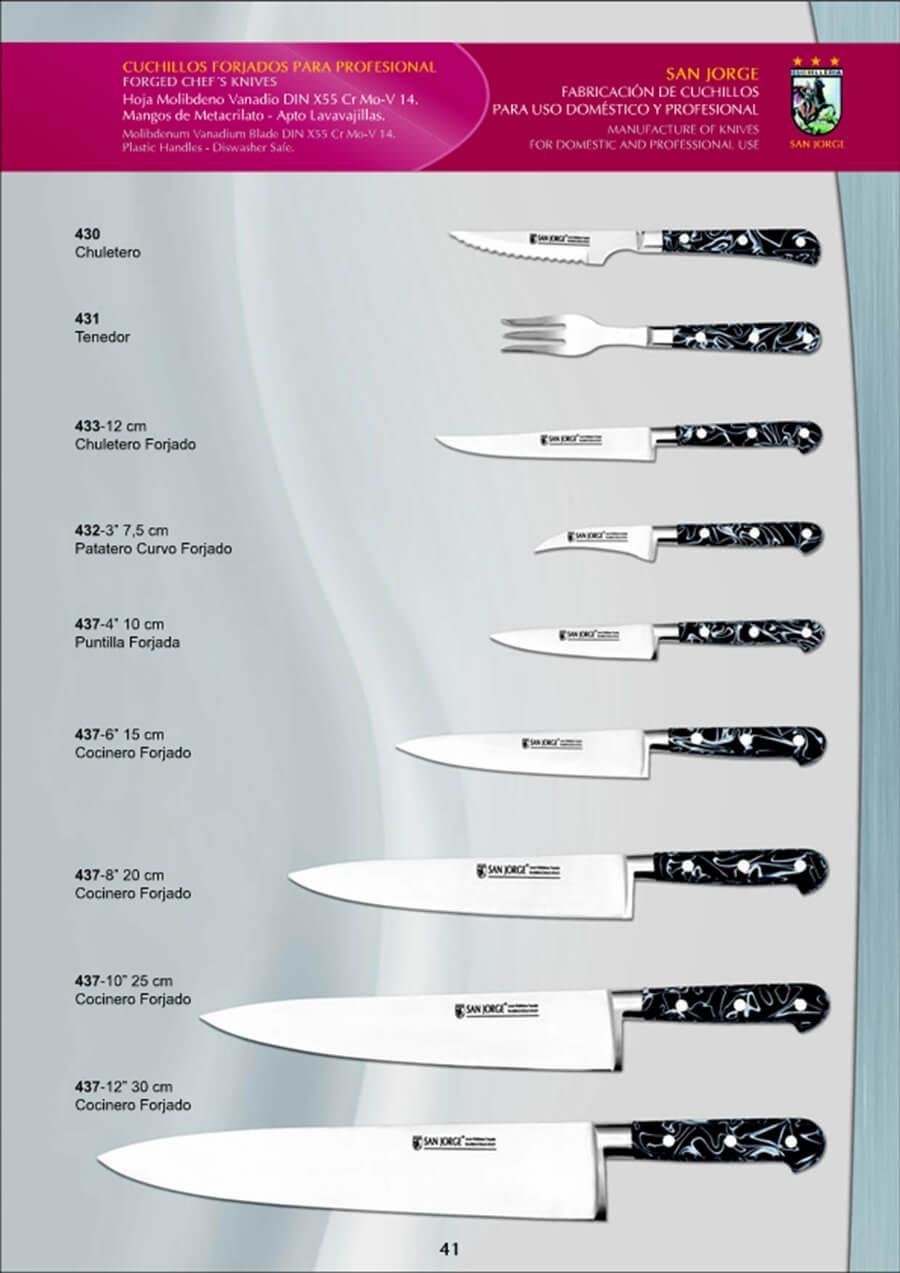 coutellerie professionnelle cuisiner couteaux professionnels san jorge coutellerie. Black Bedroom Furniture Sets. Home Design Ideas