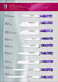 professional knives METHACRYLATE PROFESSIONAL KNIVES