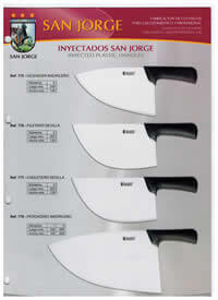 professional knives INJECTED KNIVES