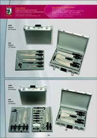 professional knives KNIVES BRIEFCASE