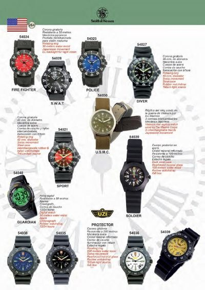 objects personal TACTICAL WATCHES