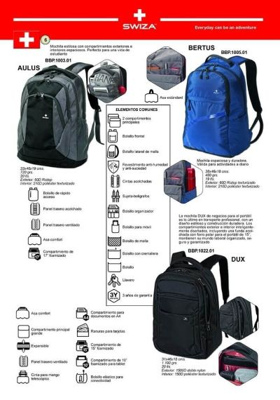 camping and survival SWIZA BACKPACK