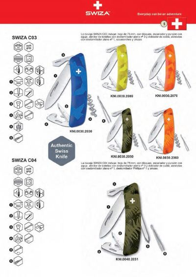 multipurpose penknives AUTHENTIC SWIZA KNIVES